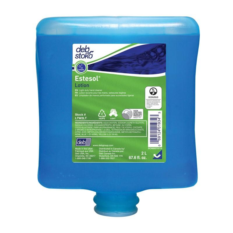 Deb Stoko Estesol lotion, 4 x 2 liter