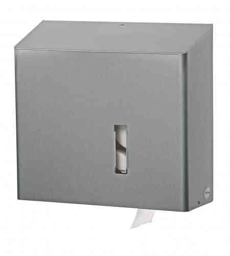 Santral RVS duo toiletrolhouder t.b.v. 4 toiletrollen