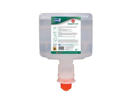 Deb Instant foam touchfree desinfectie, 3 x 1 liter