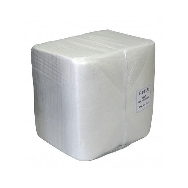 Wegwerpdoek wit A-kwaliteit baal 10 kg