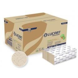 Lucart Eco handdoekpapier z-vouw 2-lgs, 3000 stuks
