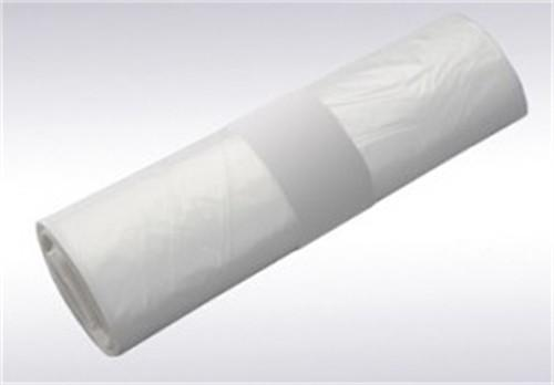 Afvalzak 50 x 55 cm T10 transparant, rol 50 stuks