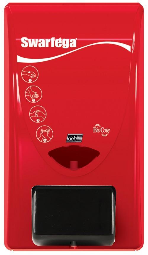 Dispenser Swarfega handreinigers 2 liter