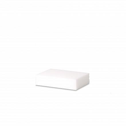 Wecoline vlekkenspons 11 x 6,5 cm wit, 10 stuks