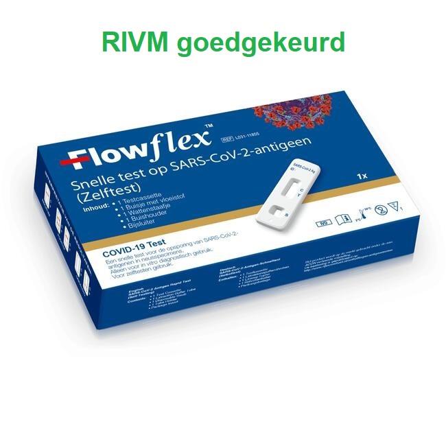 ACON Flow Flex sneltest - kort wattenstaafje