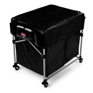 Rubbermaid x-cart black bag 300 liter