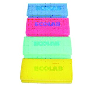 Ecolab Polifix schuurspons rood - 10 stuks
