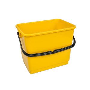 Wecoline emmer 6 liter geel