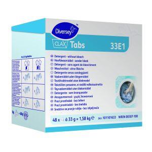 Clax Tabs hoofdwasmiddel zonder bleek - 48 stuks