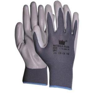 Werkhandschoen Nitrile Flex maat 9