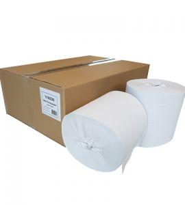 Doseer.nl poetspapier 1-lgs kokerloos RW 300 mtr x 20 cm, 6 rollen