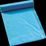 Afvalzak 65/25 x 140 cm T70 blauw, 10 x 10 stuks