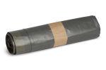 Afvalzak 65 x 80 cm T50 grijs + trekkoord, 20 x 10 stuks