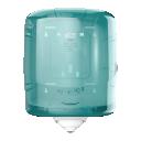 Tork Reflex centerfeed dispenser tuquoise/wit (M4)