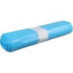 Afvalzak 70 x 110 cm T25 blauw, 25 x 20 stuks