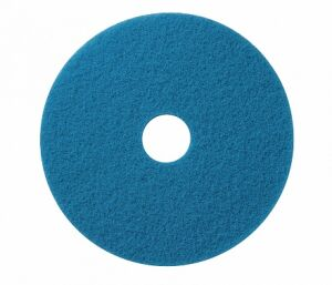 Wecoline schrob pad blauw 18 inch, 5 stuks