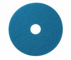 Wecoline schrob pad blauw 19 inch, 5 stuks