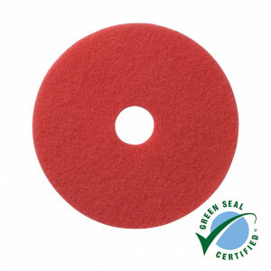 Wecoline schrob pad rood 5 inch, 10 stuks