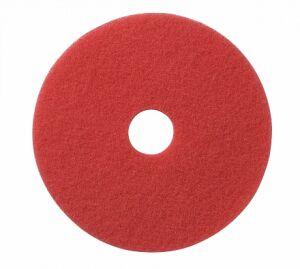 Wecoline schrob pad rood 9 inch, 5 stuks