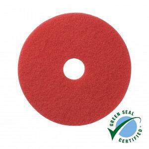 Wecoline schrob pad rood 21 inch, 5 stuks