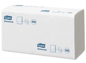 Tork Universal handdoekpapier z-vouw wit 1-lgs 23 x 23 cm, 4500 stuks
