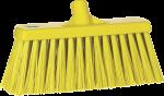 Vikan bezem 30 cm geel harde vezel