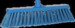 Vikan bezem 47 cm blauw harde vezel