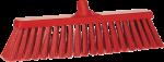 Vikan bezem 47 cm rood harde vezel
