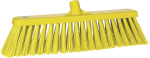 Vikan bezem 47 cm geel harde vezel