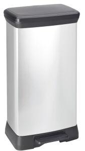 Decobin pedaalemmer rechthoekig 50 liter