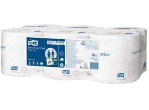Tork SmartOne toiletpapier 2-lgs 207 mtr, 6 rollen