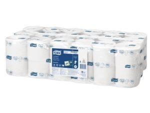 Tork Universal coreless toiletpapier 1-lgs wit 1300 vel, 36 rollen