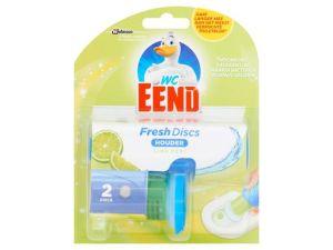 WC Eend Fresh disc houder Lime incl. 2 discs, 5 stuks
