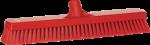 Vikan vloerschrobber 47 cm rood harde vezel