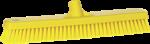 Vikan vloerschrobber 47 cm geel harde vezel