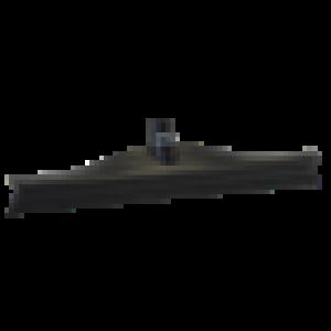 Vikan ultra hygiene vloertrekker, zwart, 40 cm.