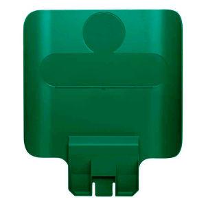 Rubbermaid paneel voor recyclingstation groen