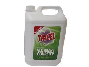 Tricel vloeibare zeep zonder parfum, can 5 liter