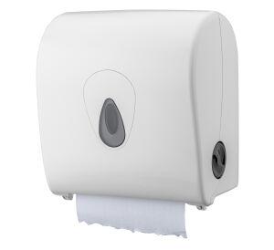 PlastiQline handdoekrolautomaat wit kunststof mini