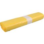 Afvalzak 58 x 100 cm T23 geel, 20 x 25 stuks