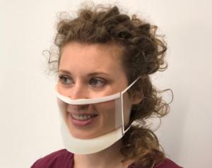 ClearMask transparant mondmasker, 24 stuks