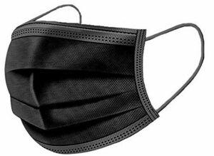 BeeMask medische mondkapjes 3-laags type 2R zwart, 50 stuks