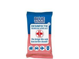 Blue Wonder Desinfectie Doekjes 20 stuks per pakje
