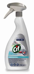 Cif ETHA-plus opervlakte desinfectiemiddel sproeiflacons 6 x 750 ml.