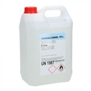 Handdesinfectiemiddel 70% can 5 liter