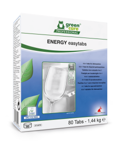 Green Care Energy Easy 4-in-1 vaatwastabletten, 5 x 80 stuks