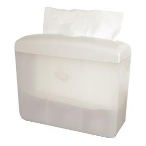 Tafelmodel handdoekpapier dispenser wit