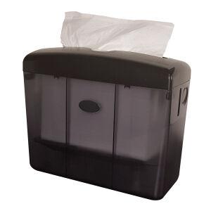 Tafelmodel handdoekpapier dispenser zwart