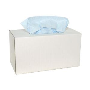 M-wipe werkdoek blauw 42 x 35 cm, 2 x dispenserdoos 160 doeken