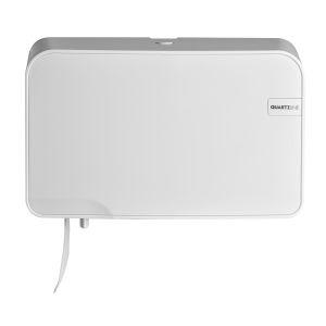 Quartz White duo toiletrolhouder compact / traditioneel